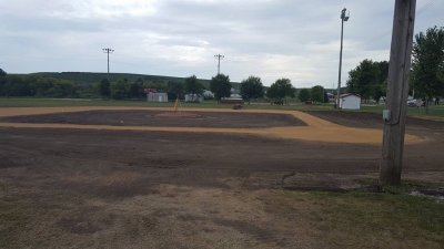 Audubon baseball field renovation  2017